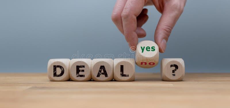 Διαπραγμάτευση ή καμία διαπραγμάτευση; στοκ φωτογραφία με δικαίωμα ελεύθερης χρήσης