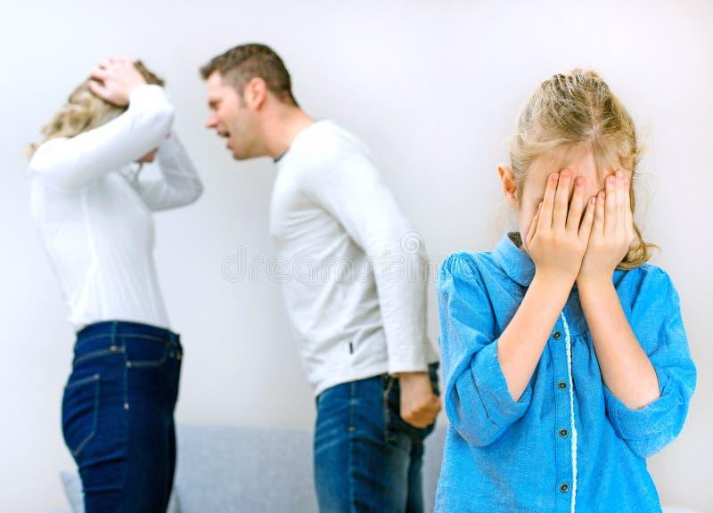 Διαπληκτισμός γονέων στοκ εικόνες με δικαίωμα ελεύθερης χρήσης