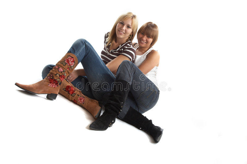 Download διασκέδαση καλύτερων φίλ στοκ εικόνα. εικόνα από οικογένεια - 1548153