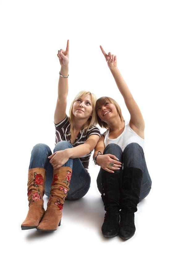 Download διασκέδαση καλύτερων φίλ στοκ εικόνα. εικόνα από ομάδων - 1548169
