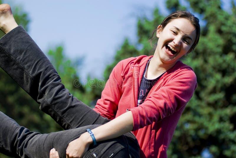 διασκέδαση κοριτσίστικ&et στοκ εικόνες με δικαίωμα ελεύθερης χρήσης