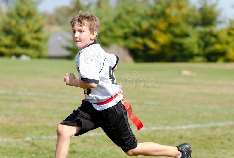 Διασκέδαση ποδοσφαίρου σημαιών στοκ εικόνα με δικαίωμα ελεύθερης χρήσης