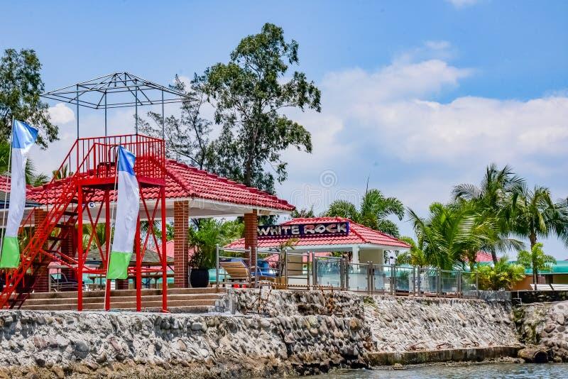 Διασκέδαση στον ήλιο στον κόλπο Subic στοκ εικόνα με δικαίωμα ελεύθερης χρήσης