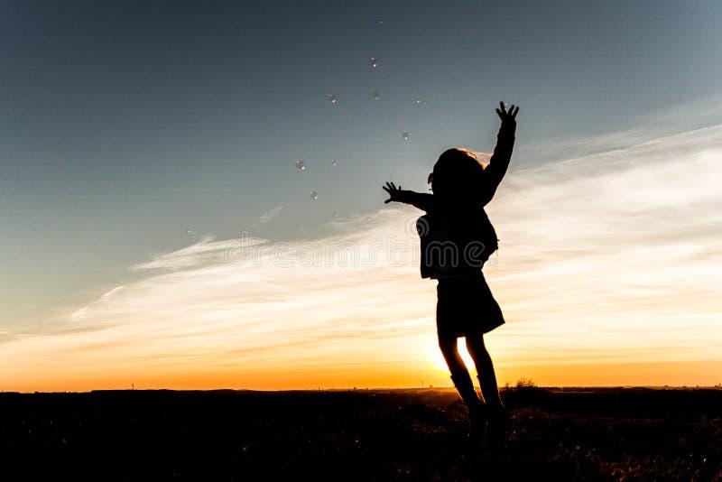 Διασκέδαση ηλιοβασιλέματος στοκ εικόνες