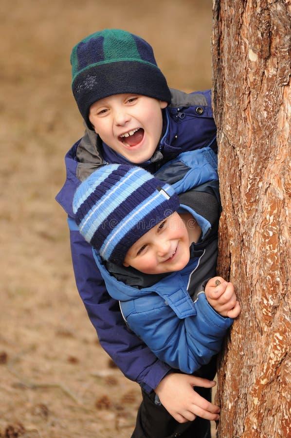Διασκέδαση παιδιών στοκ εικόνα