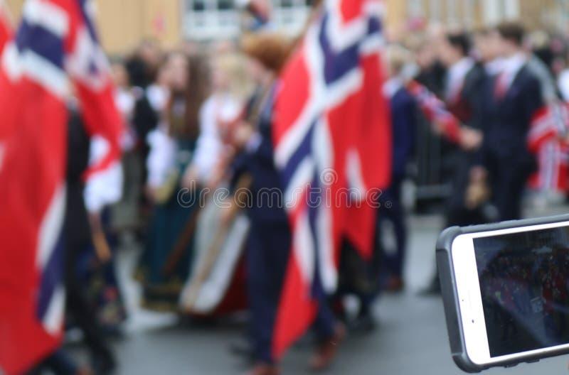 Διασκέδαση στην παρέλαση στοκ εικόνες