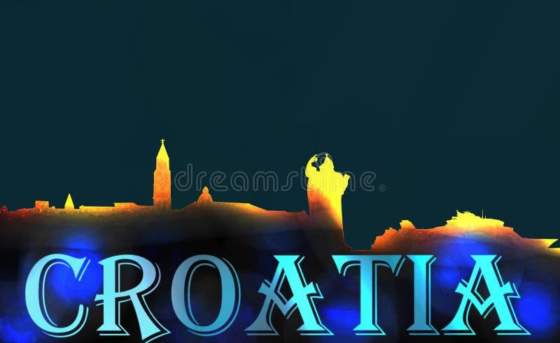 Διασπασμένες μνήμες της Κροατίας ελεύθερη απεικόνιση δικαιώματος