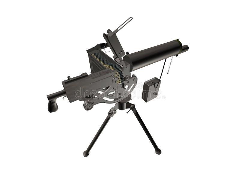 διασπορά πυροβόλων όπλων διανυσματική απεικόνιση