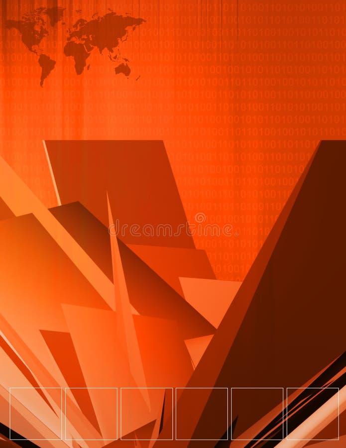 διαστατική απεικόνιση τρία Στοκ Εικόνα