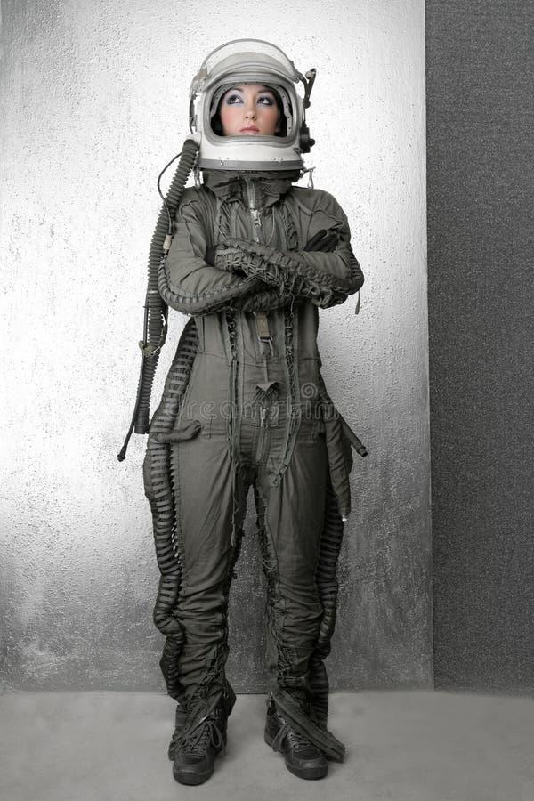 διαστημική γυναίκα κοστ&om στοκ φωτογραφίες με δικαίωμα ελεύθερης χρήσης
