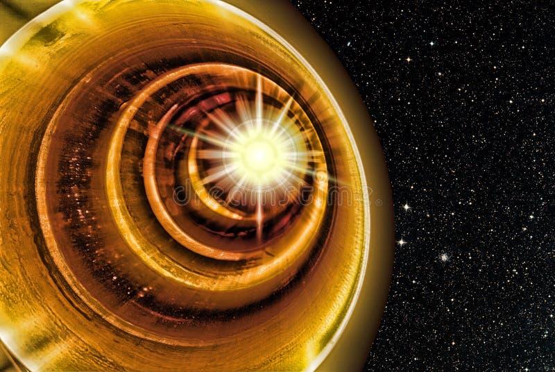 διαστημική σήραγγα στοκ εικόνα με δικαίωμα ελεύθερης χρήσης