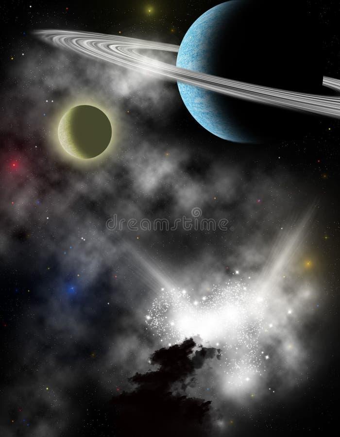 Διαστημική σκηνή απεικόνιση αποθεμάτων