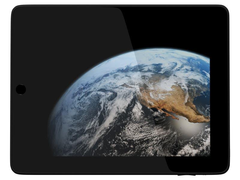 διαστημική ταμπλέτα γήινων &p στοκ φωτογραφίες με δικαίωμα ελεύθερης χρήσης
