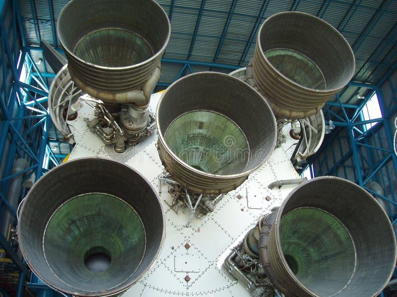 διαστημικοί προωθητές πυραύλων ενισχυτών στοκ εικόνες