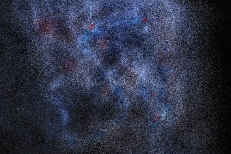 Διαστημικός έναστρος ουρανός στοκ φωτογραφία