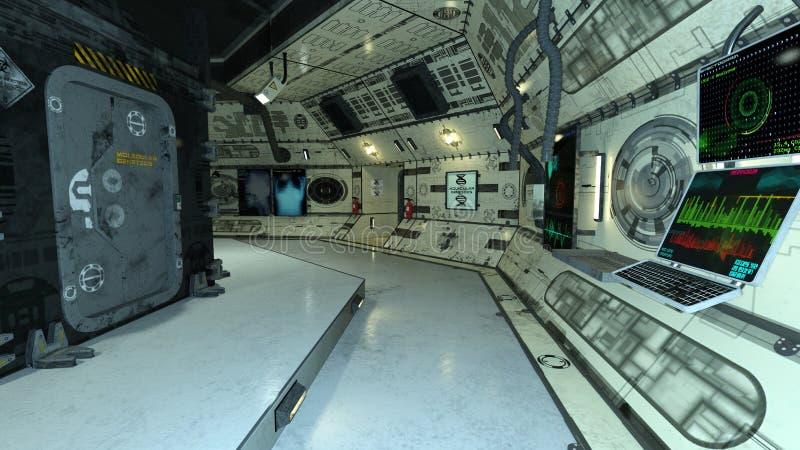 Διαστημικός σταθμός στοκ φωτογραφία