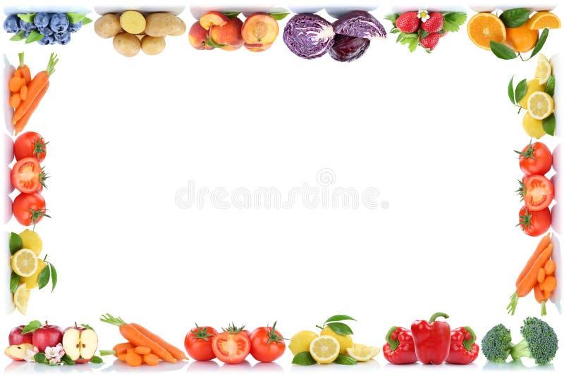 Διαστημικό μήλο αντιγράφων συνόρων πλαισίων φρούτων και λαχανικών copyspace ή απεικόνιση αποθεμάτων