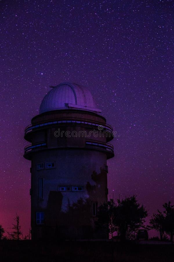 Διαστημικό παρατηρητήριο Sanglok σε Nurek Τατζικιστάν στοκ εικόνες