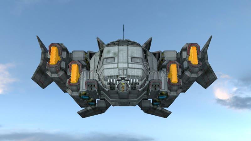 Διαστημικό σκάφος στοκ εικόνα