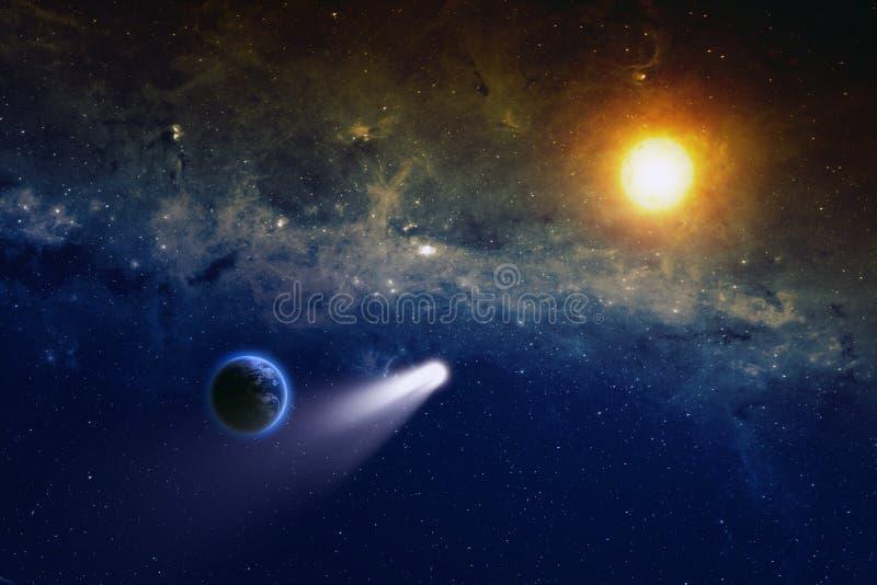 Διαστημικό υπόβαθρο στοκ εικόνες