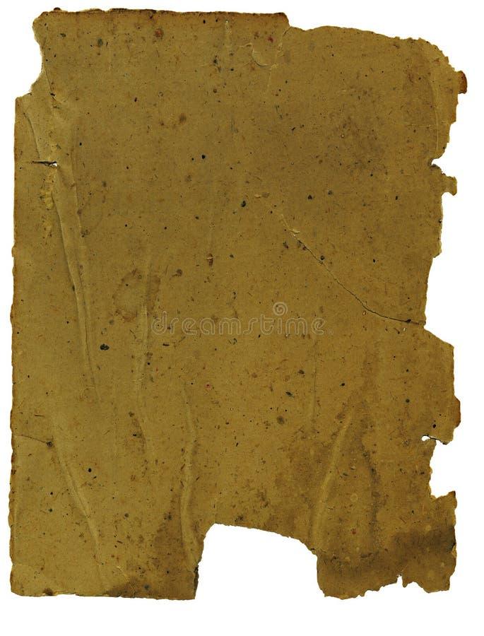 Διαστισμένο έγγραφο στοκ εικόνα με δικαίωμα ελεύθερης χρήσης