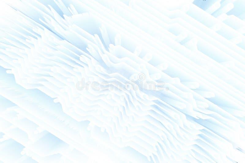 Διαστρεβλωμένη ταξινόμηση εικονοκυττάρου σύστασης γραμμή τρεμούλιασμα διανυσματική απεικόνιση