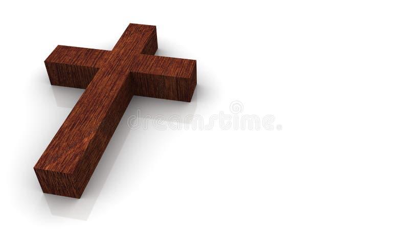 διασχίστε ξύλινο απεικόνιση αποθεμάτων