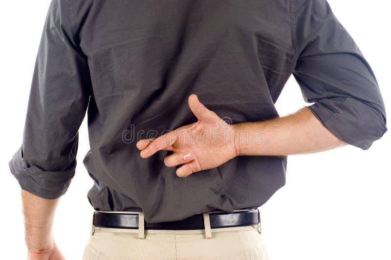 διασχισμένα δάχτυλα στοκ φωτογραφία με δικαίωμα ελεύθερης χρήσης