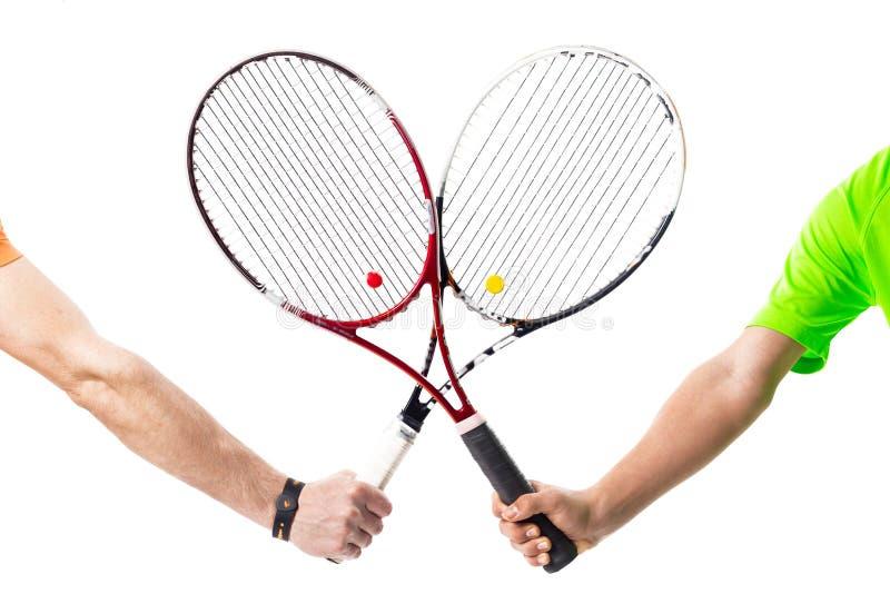 Διασχισμένες ρακέτες αντισφαίρισης στοκ φωτογραφίες με δικαίωμα ελεύθερης χρήσης