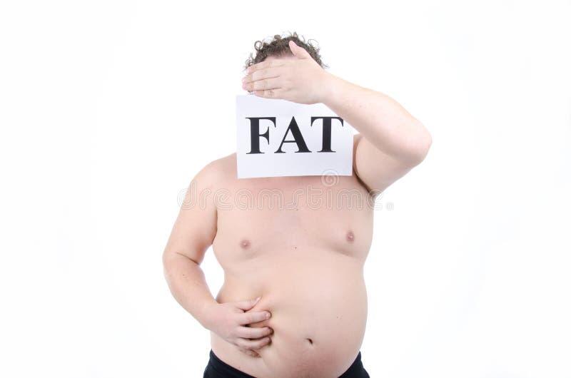 Διατροφή και παχύς τύπος στοκ φωτογραφίες με δικαίωμα ελεύθερης χρήσης