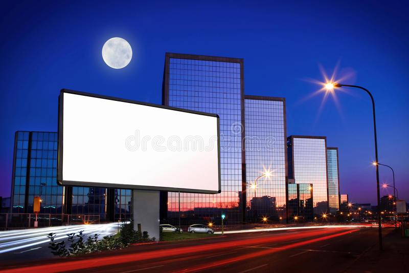 Διαφήμιση στην οδό στοκ εικόνα