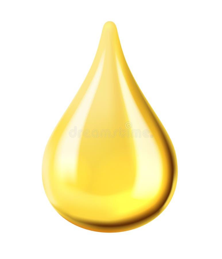 Διαφανής πτώση πετρελαίου ελεύθερη απεικόνιση δικαιώματος