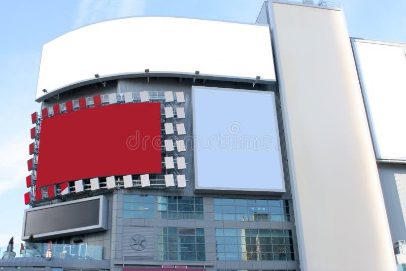 διαφημιστική μεγάλη πόλη στοκ εικόνες με δικαίωμα ελεύθερης χρήσης
