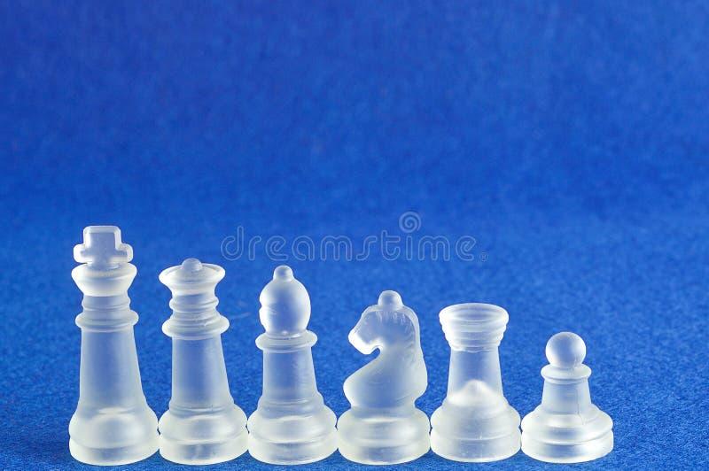 Διαφορετικά κομμάτια σκακιού στοκ εικόνες με δικαίωμα ελεύθερης χρήσης