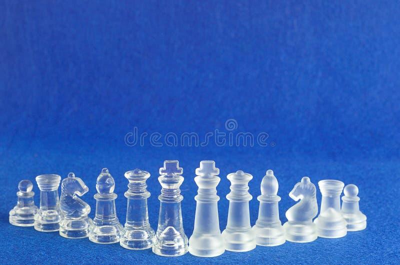Διαφορετικά κομμάτια σκακιού στοκ φωτογραφία
