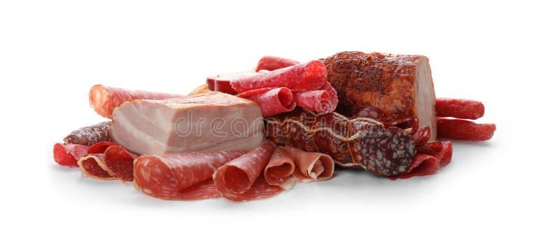 Διαφορετικές νόστιμες λιχουδιές κρέατος στοκ φωτογραφία