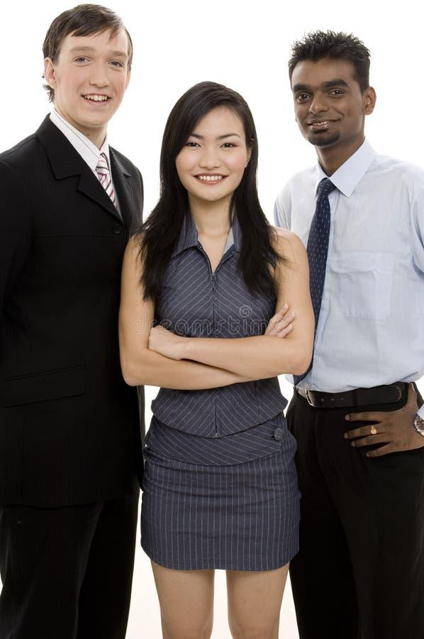 διαφορετική ομάδα 4 επιχειρήσεων στοκ εικόνα