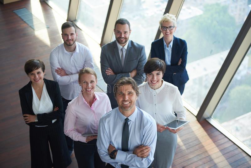 Διαφορετική ομάδα επιχειρηματιών στοκ εικόνα με δικαίωμα ελεύθερης χρήσης