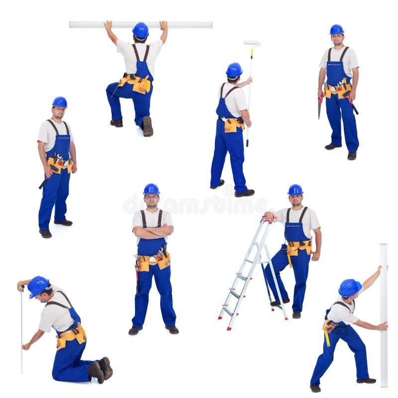διαφορετική handyman εργασία ε στοκ εικόνες