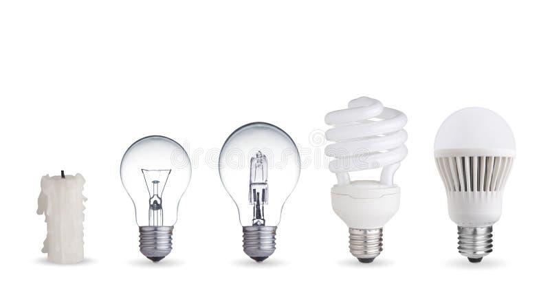 Διαφορετικοί τρόποι του φωτισμού στοκ εικόνα με δικαίωμα ελεύθερης χρήσης