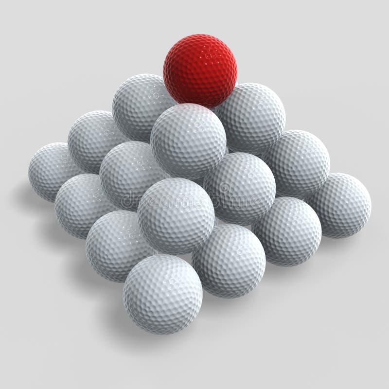 Download διαφορετικό γκολφ απεικόνιση αποθεμάτων. εικονογραφία από επιφάνεια - 2230927