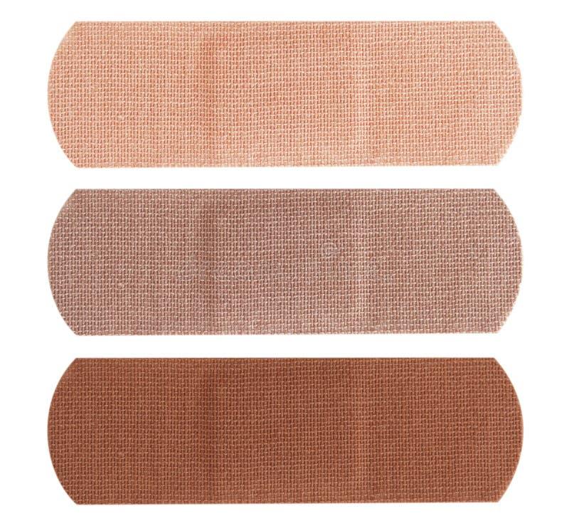 διαφορετικό δέρμα χρωμάτων επιδέσμων στοκ εικόνα με δικαίωμα ελεύθερης χρήσης