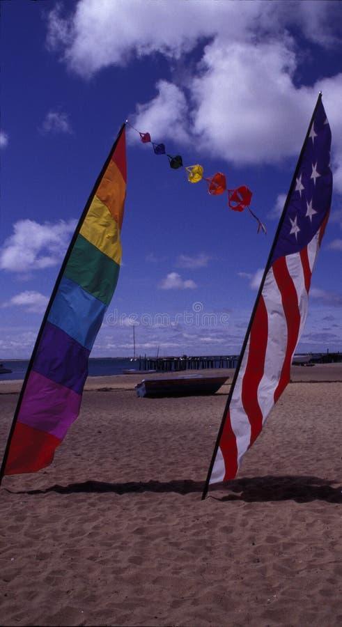 διαφορετικό είδος σημαιών στοκ φωτογραφία με δικαίωμα ελεύθερης χρήσης