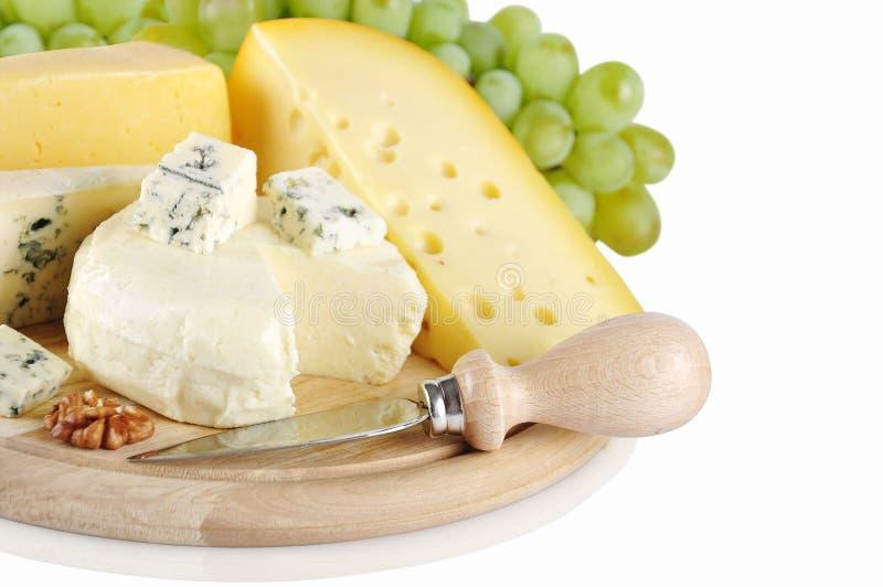 Διαφορετικό είδος τυριού στοκ εικόνες