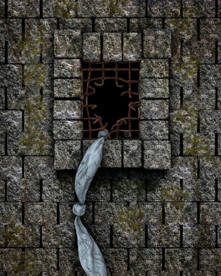Διαφυγή από τη φυλακή ελεύθερη απεικόνιση δικαιώματος