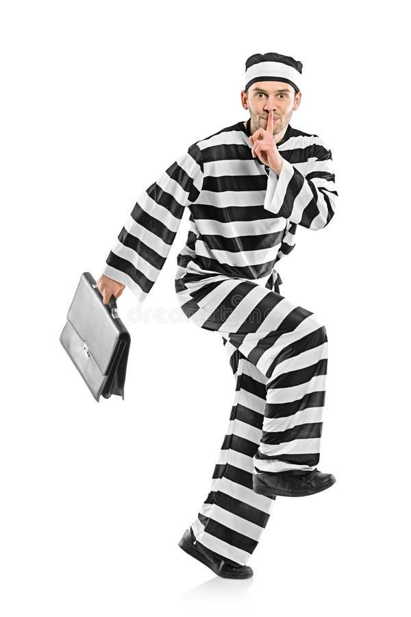 διαφυγή του φυλακισμέν&omic στοκ φωτογραφίες με δικαίωμα ελεύθερης χρήσης