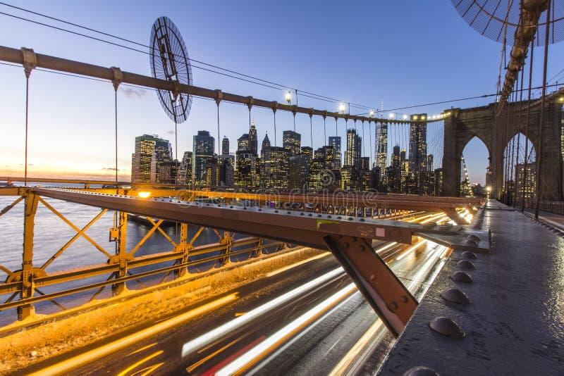 Διαφυγή Rushhour από τη Νέα Υόρκη στοκ εικόνες με δικαίωμα ελεύθερης χρήσης