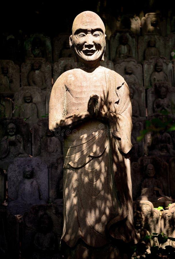 Διαφωτισμός στο βουδιστικό ναό Daien, Τόκιο, Ιαπωνία στοκ φωτογραφία