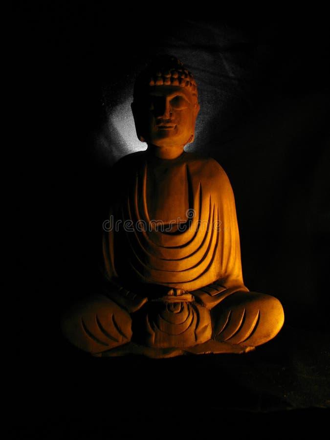 Διαφωτισμός του Βούδα στοκ εικόνες με δικαίωμα ελεύθερης χρήσης