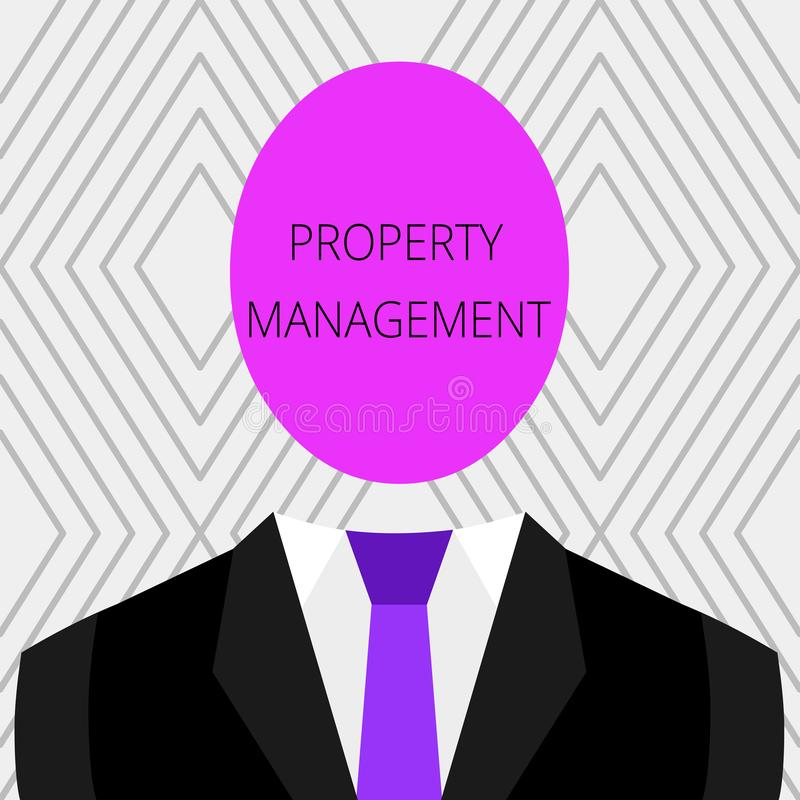 Διαχείριση ιδιοκτησίας κειμένων γραφής Έννοια που σημαίνει την επιτήρηση της συντηρημένης αξίας ακίνητων περιουσιών της δυνατότητ ελεύθερη απεικόνιση δικαιώματος
